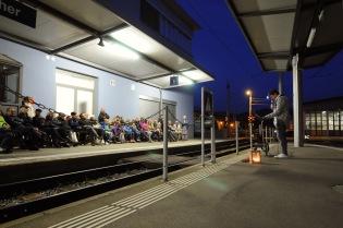 Bahnhof Speicher.