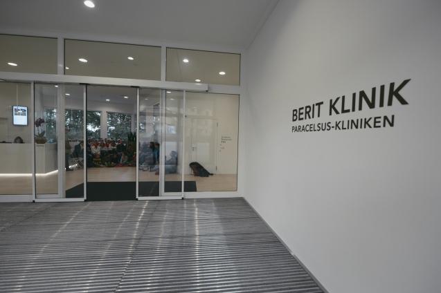 Die Berit Klinik in Speicher; Ausgangspunkt der zweiten Ambulanten Lesung