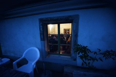 In der Sambuco Bar finden sich die Gäste zum kleinen Apéro ein.