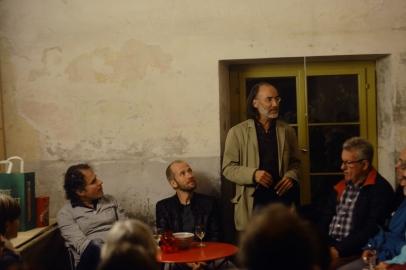 Im Gespräch geben Ralf Bruggmann und Lukas Krejci Einblick in ihre Arbeit.
