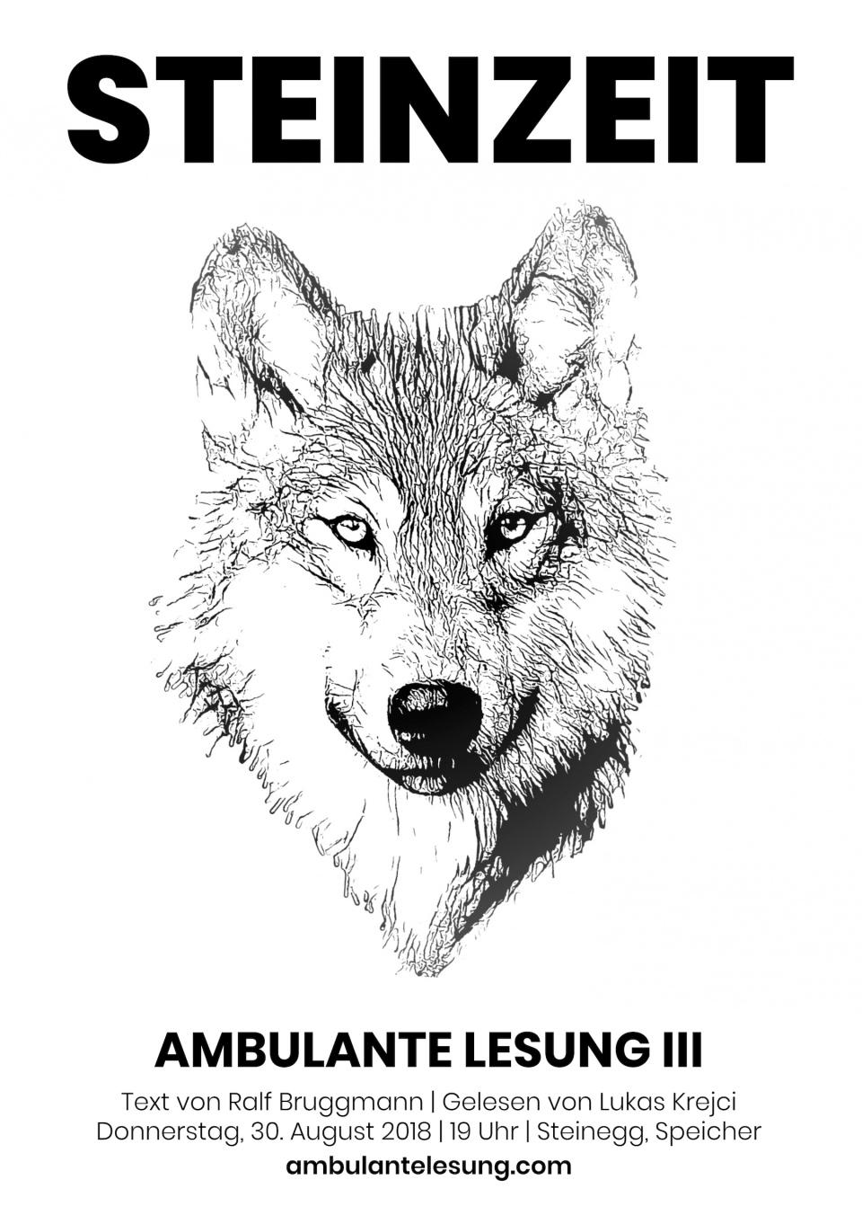 Ambulante Lesung 3 - Flyer - Seite 1